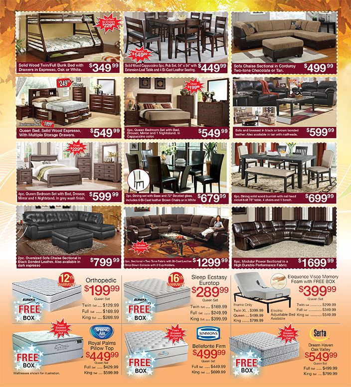 Fall into savings Promo II MUST PRESENT COUPON AT TIME OF SALE