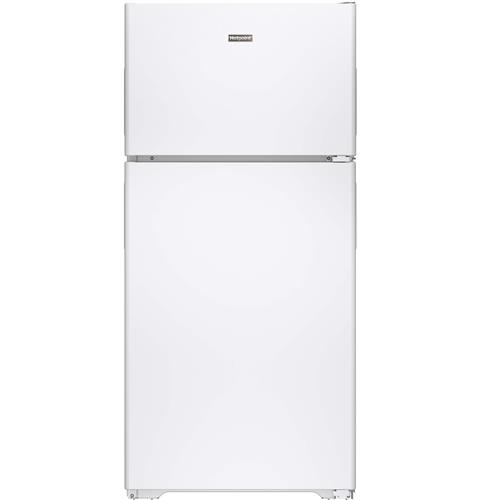 Hotpoint® 14.6 Cu. Ft. Recessed Handle Top-Freezer Refrigerator HPS15BTHRWW