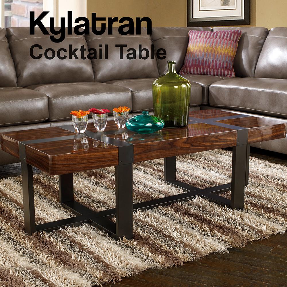 Ashley Kylatran Cocktail Table