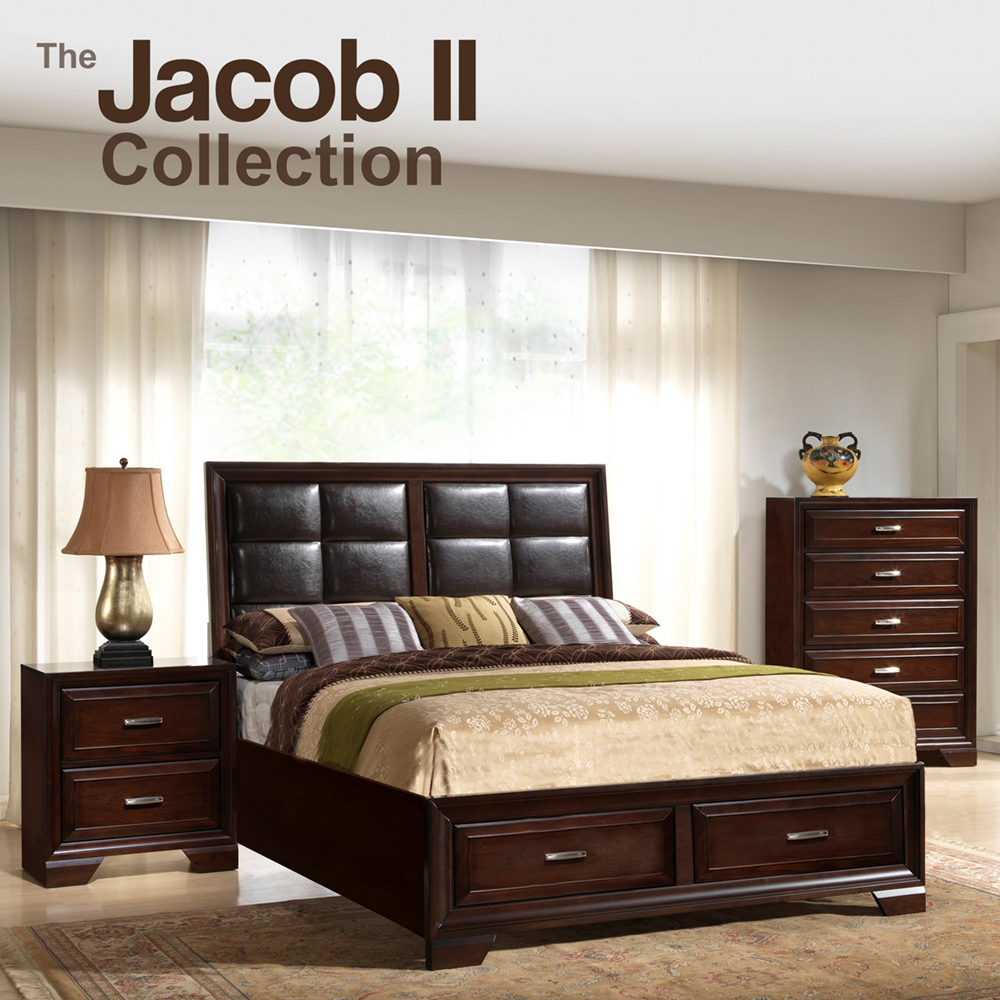 Jacob II Queen Sorage Bedroom Set