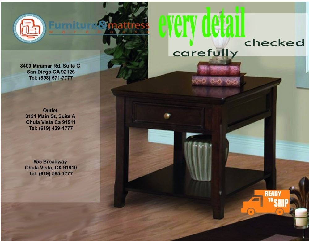 Timber City End Table