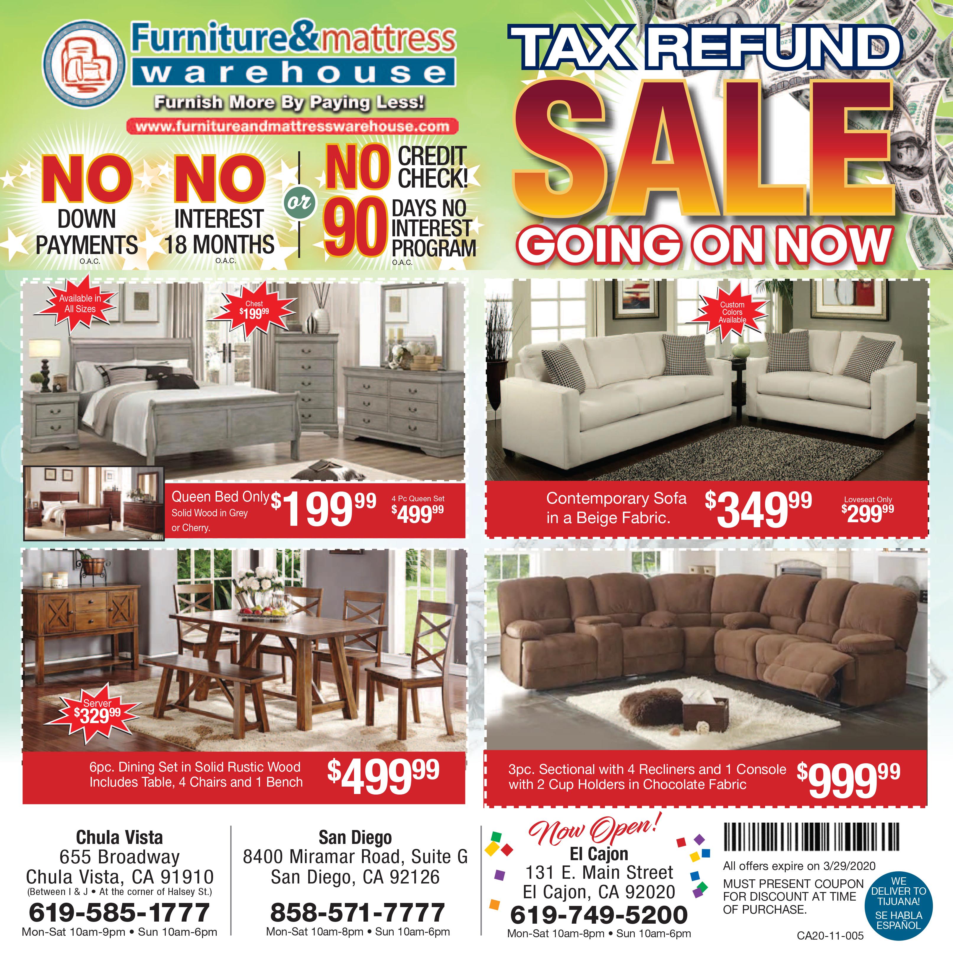 TAX REFUND Sale 2020
