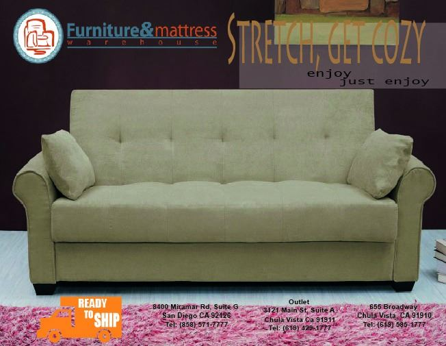 Lifestyle Roxbury Sofa Futon Click Clack