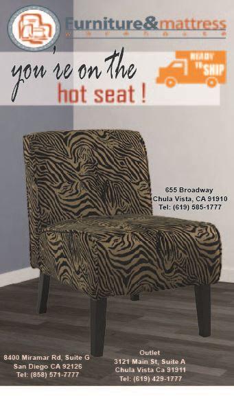 Ariel Zebra JC Accent Chair