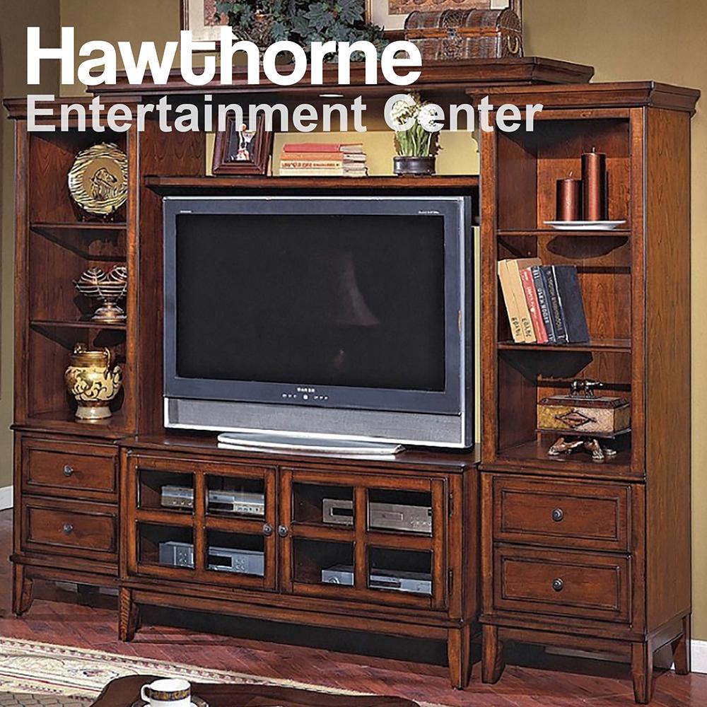 Hawthorne 4pc Entertainment Center