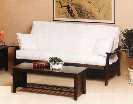 Samurai Wood Futon Frame Rosewood