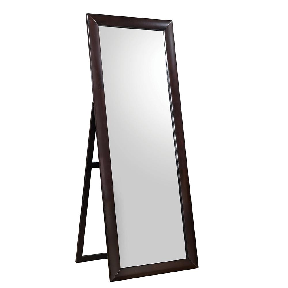 Floor Mirror Cappuccino