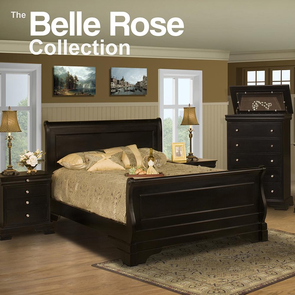 Belle Rose Queen Bedroom Collection Set