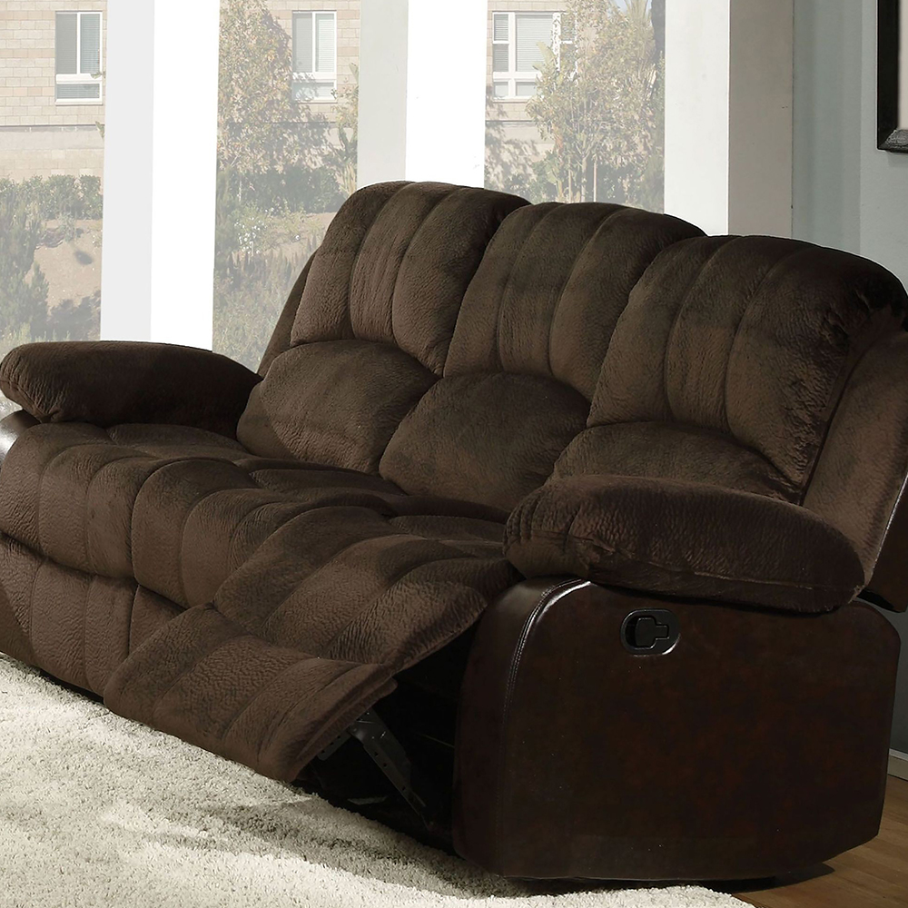 Sofa and Love w/ Console and Dual Gliders