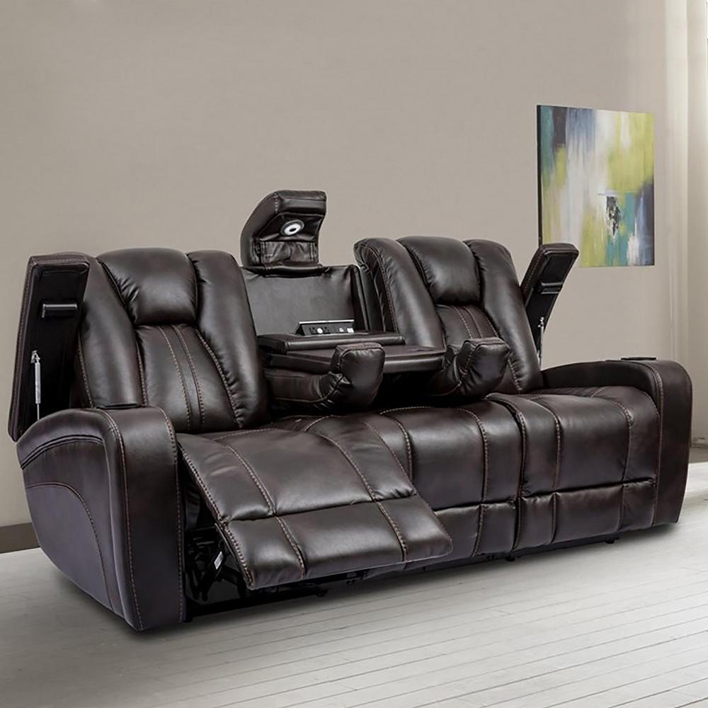 Brown Sofa & Love Seat
