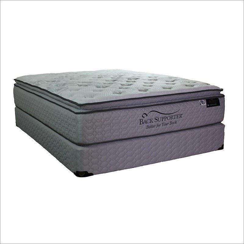 Spring Air Bershire Cal King Pillow Top Mattress and Box