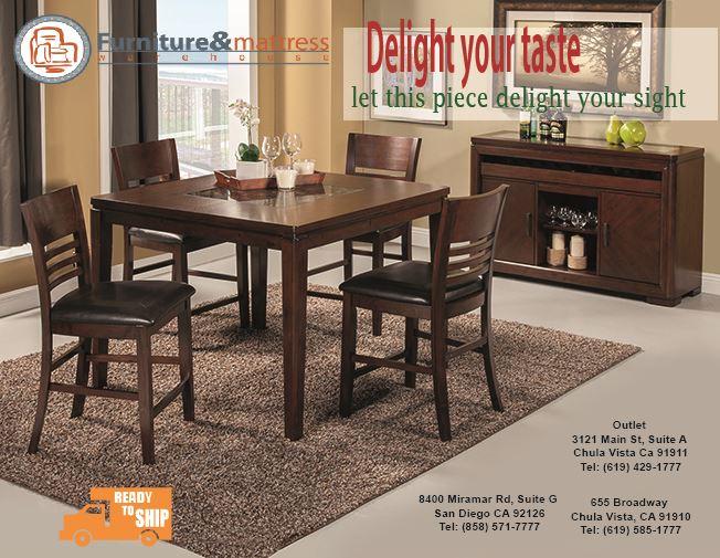 Granada 7pc Dining Table