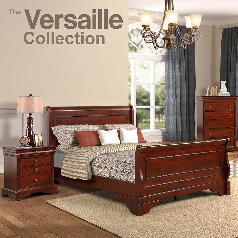 Versaille Queen Bedroom Collection Set