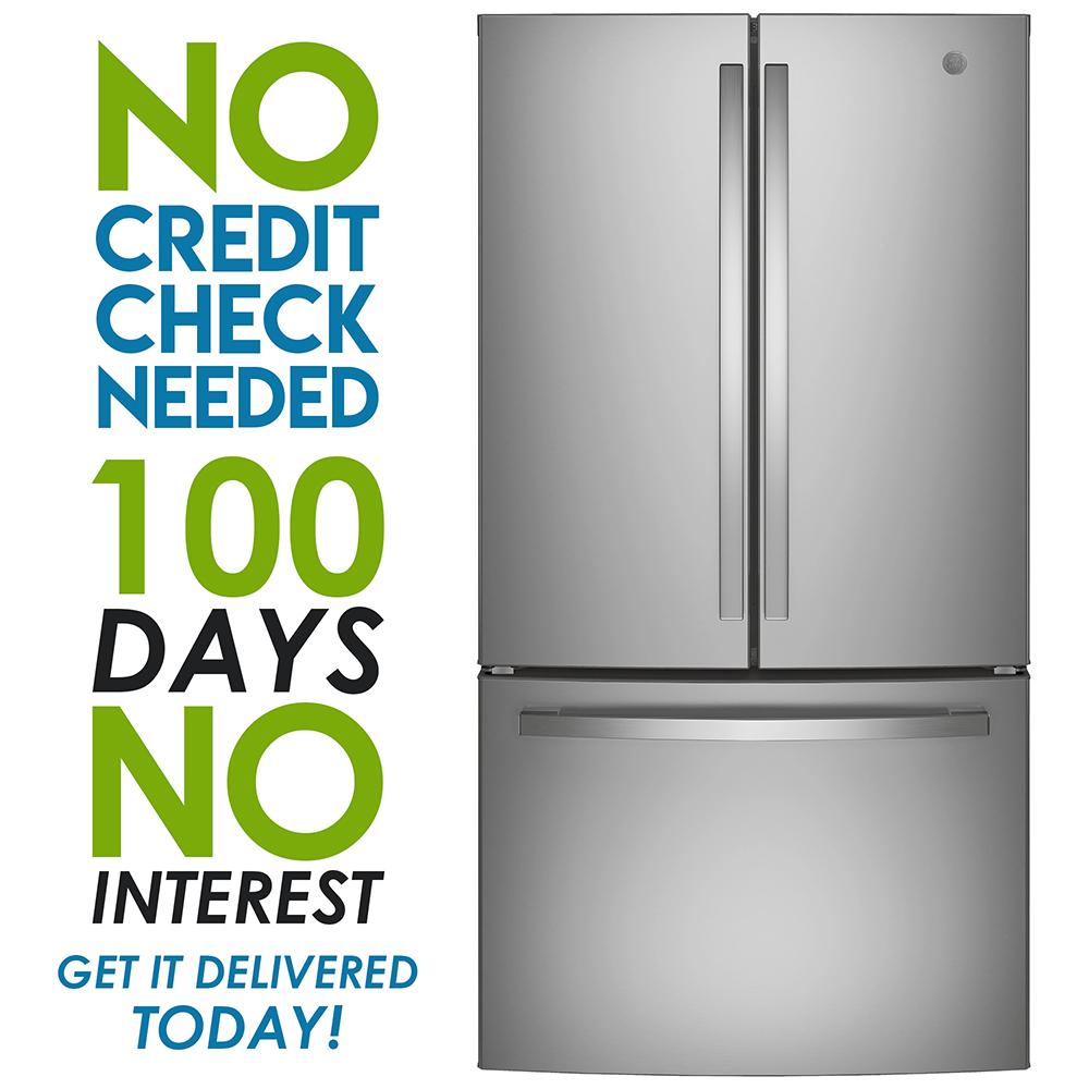 GE ENERGY STAR 18.6 Cu. Ft. Counter-Depth French-Door Refrigerator