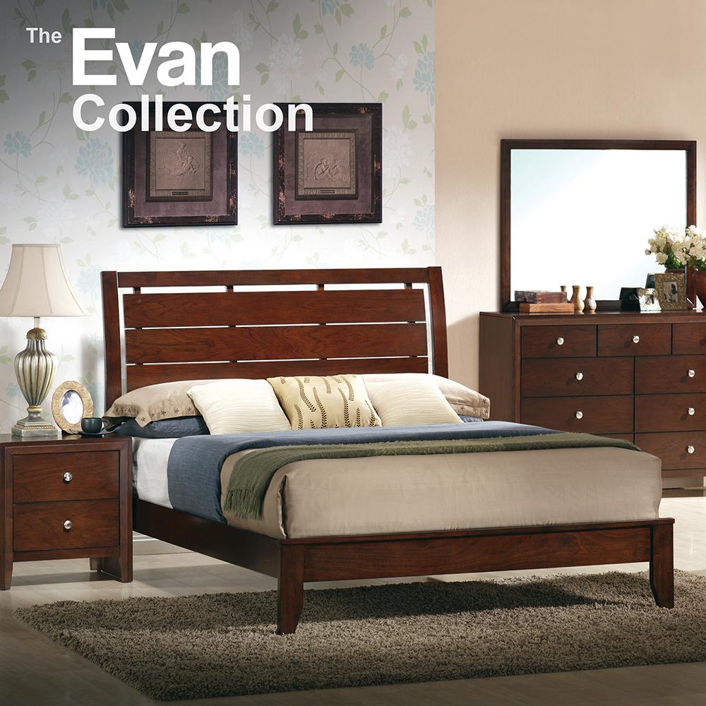 Evan Queen Bedroom Set