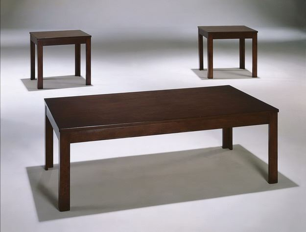 Pierce 3pc Cocktail Table and End Tables
